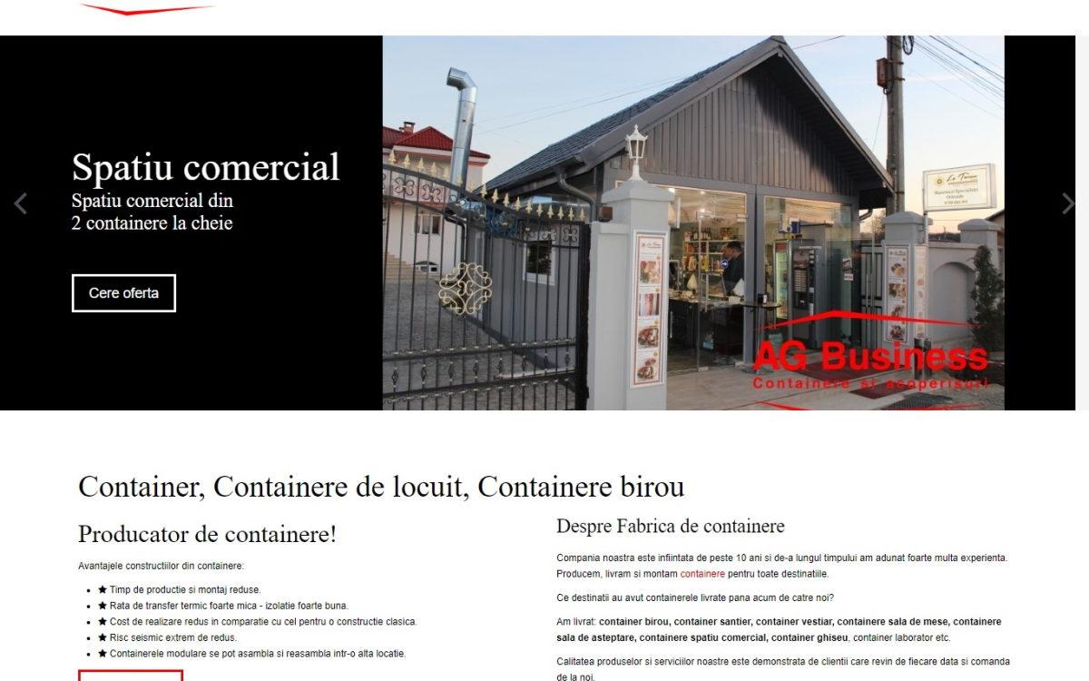 Fabrica de containere